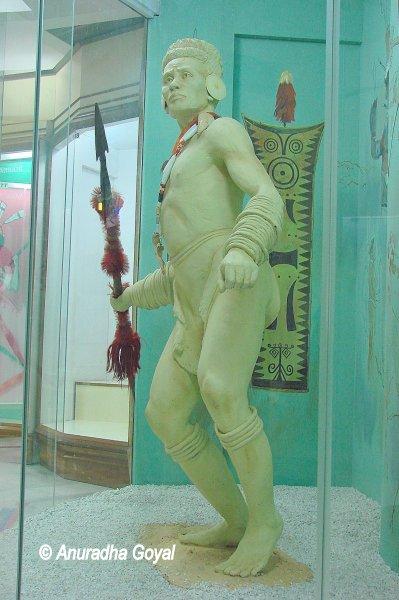 शिलांग के डॉन बोस्को संग्रहालय में एक पुतला