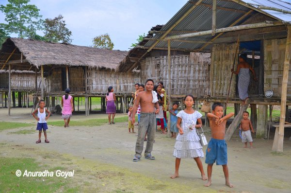 माजुली द्वीप की मिसिंग जनजाति