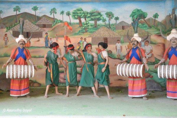 आदिवासी संग्रहालय - बंजारा हिल्स हैदराबाद