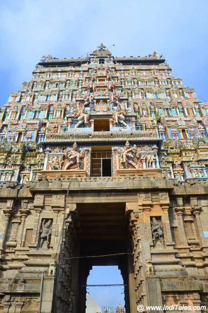 नटराज मंदिर का गोपुर