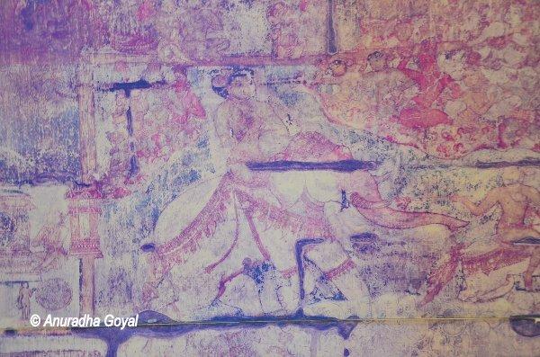 बृहदिश्वर मंदिर की चित्रकारी