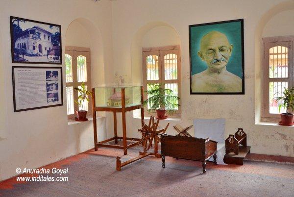 गाँधी जी का कमरा – सत्याग्रह आश्रम, कोचरब, अहमदाबाद