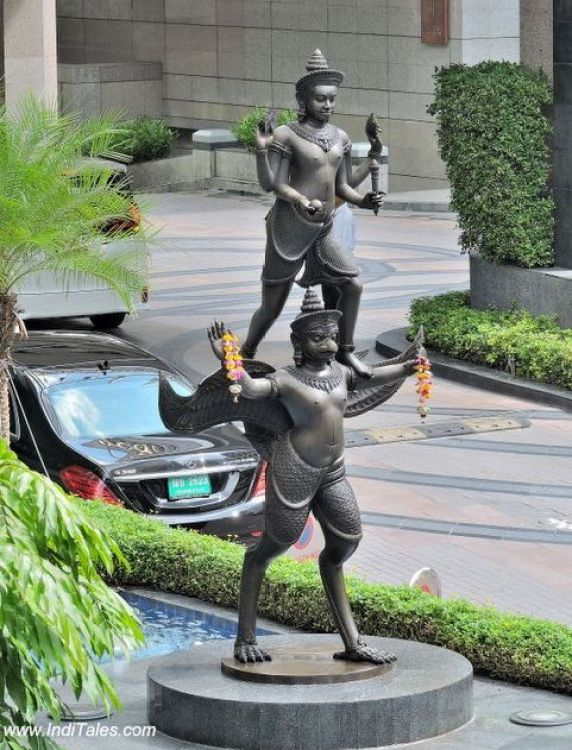 नारायण प्रतिमा - बैंकॉक