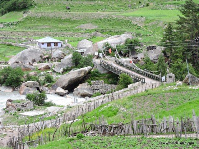 रक्चम - एक आदर्श गाँव , सांगला घाटी, हिमाचल प्रदेश