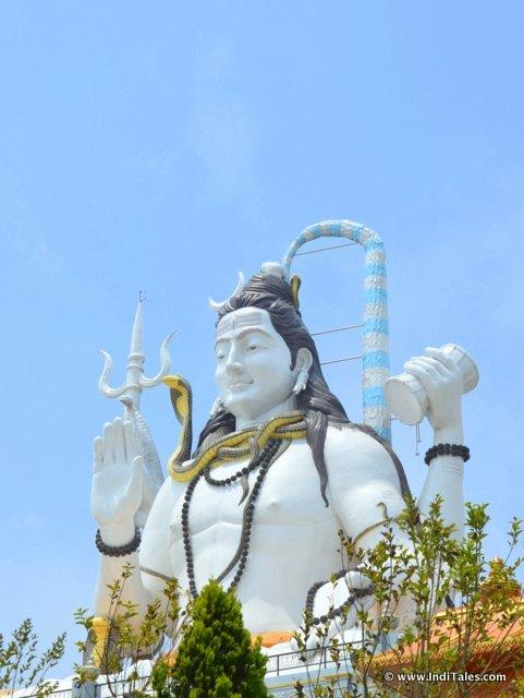 भगवान् शिव की ८७ फीट ऊँची प्रतिमा - सिद्धेश्वर धाम, नामची सिक्किम
