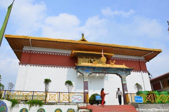 Pemayangtse Buddhist Monastery in Pelling