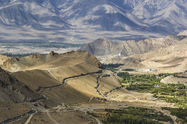 हिमालय का मनोरम दृश्य'