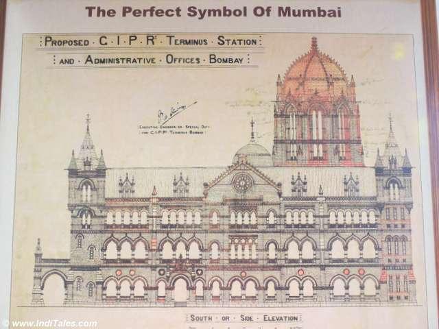 छत्रपति शिवाजी टर्मिनस के शिल्प चित्र
