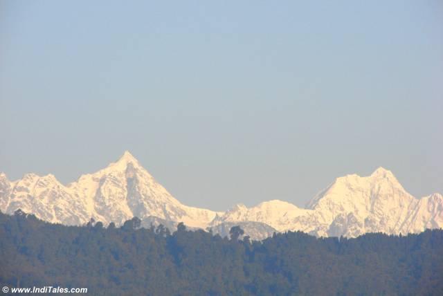 Kanchenjunga peak of Himalaya