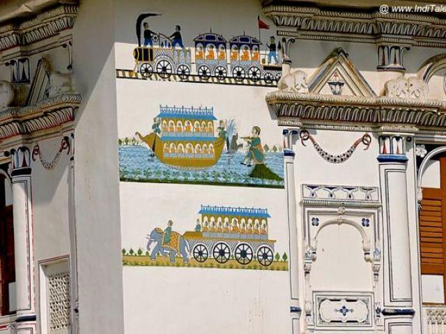 रेल, नाव और हाथी गाड़ी - यात्रा के ३ तरीके - जूनागढ़ की दीवारों पर
