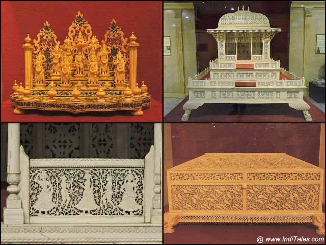 हाथीदांत की कलाकृतियाँ