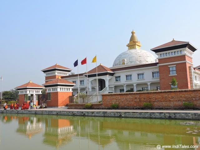 नेपाल का महायान बौद्ध विहार - लुम्बिनी