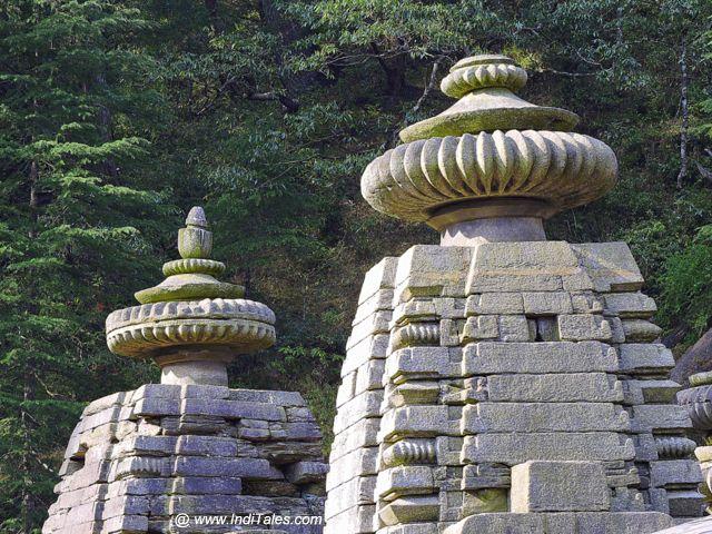 जागेश्वर मंदिरों के शिखर