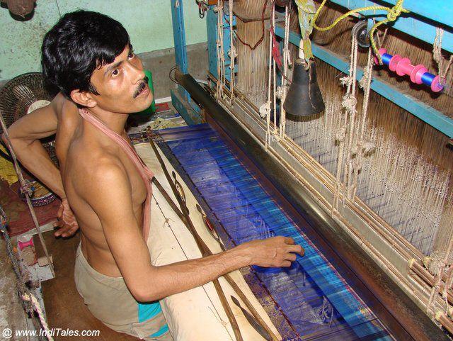 बंगाल के साडी बुनकर