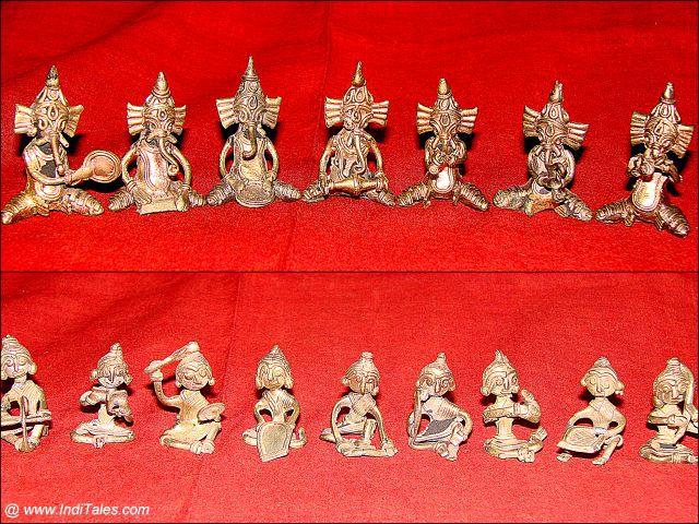 डोकरा शिल्प - कोलकाता के उपहार