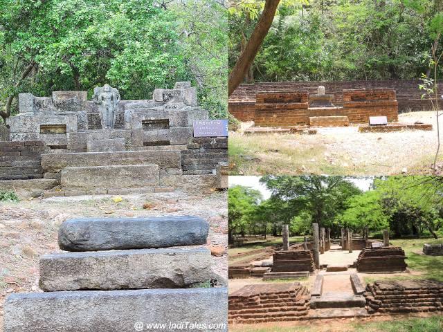 पोलोनरुवा के भिन्न भिन्न हिन्दू मंदिर