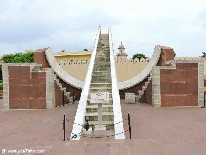 लघु सम्राट यन्त्र - जंतर मंतर जयपुर