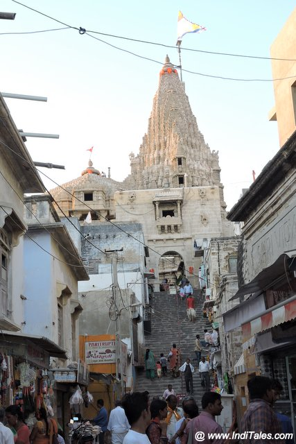 ५६ सीढ़ी वाला स्वर्ग द्वार - द्वारकाधीश मंदिर