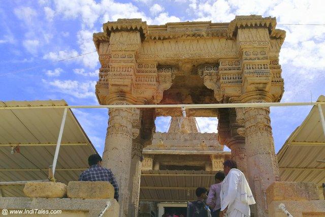 रुक्मिणी मंदिर का प्रवेश द्वार