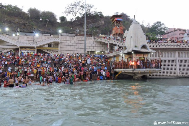 Ganga Devi Temple on the banks of the Ganges