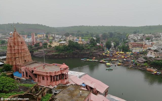 ओंकारेश्वर महादेव मंदिर और नर्मदा