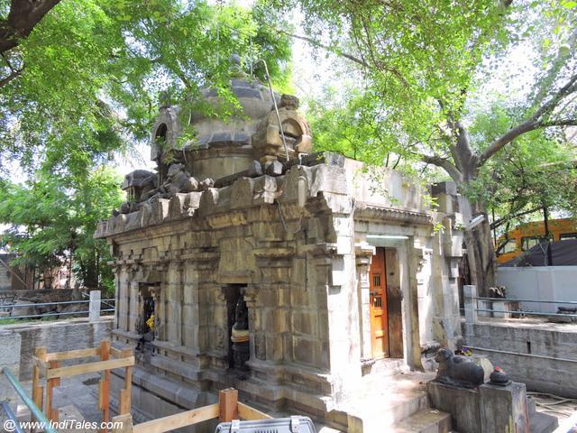 कौशिकेश्वर मंदिर - कांचीपुरम का प्राचीनतम पाशान मंदिर