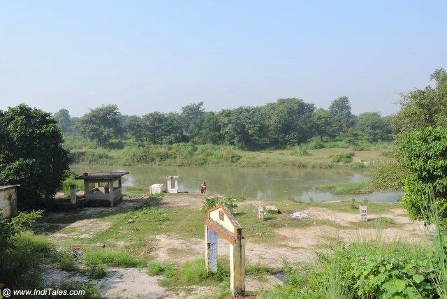 नैमिषारण्य में अदि गंगा या गोमती नदी