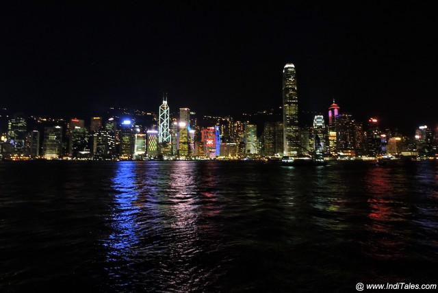 Symphony of Lights - Hong Kong Island