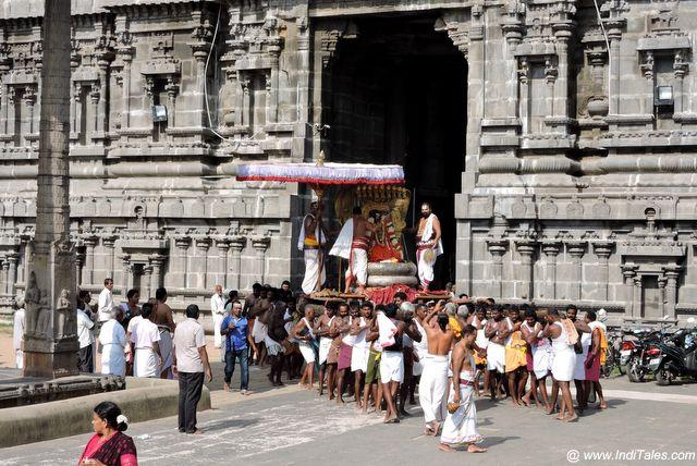 वरदराज पेरूमल मंदिर कांचीपुरम के उत्सव