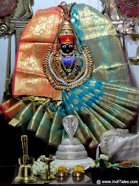 कोल्हापुर की श्री रेणुका देवी की मूर्ति