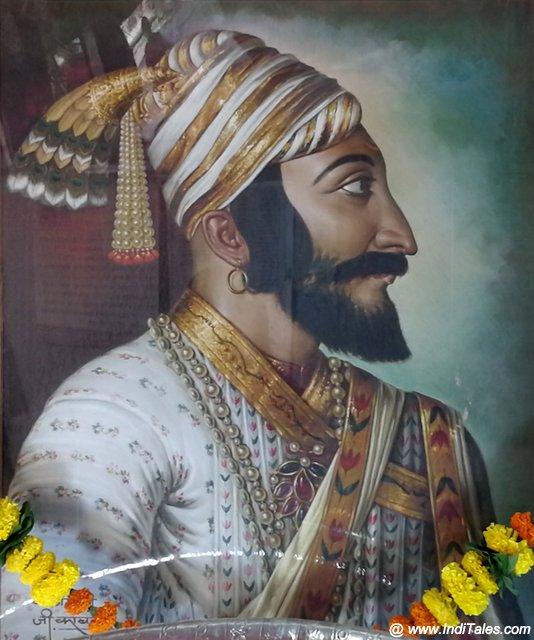 शिवाजी महाराज का सवीज चित्र