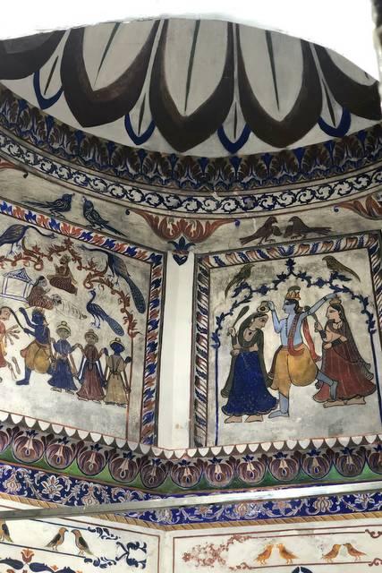 Kali Mata Temple Painting