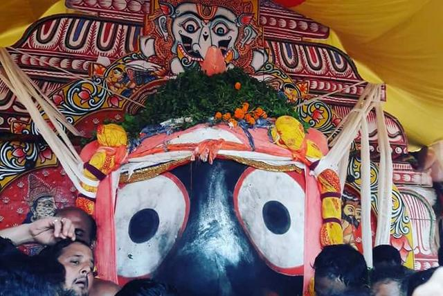 Jagannath at the time of Rath Yatra