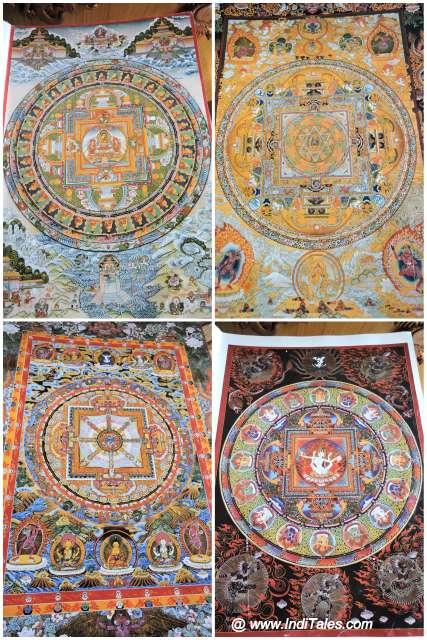 Thangka paintings as Himachal souvenirs