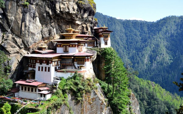 Tiger's Nest Monastery, Paro Valley, Bhutan