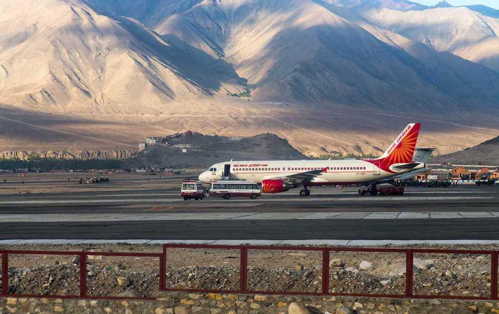 kushok bakula rimpochhe airport India