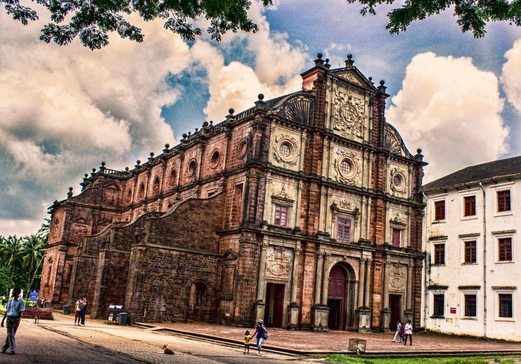 Basilica de Bom Jesus Goa