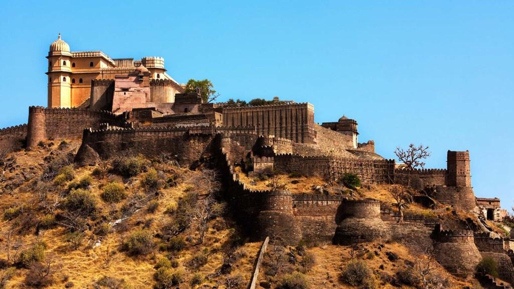 Kumbalgarh Fort ranakpur rajasthan state india