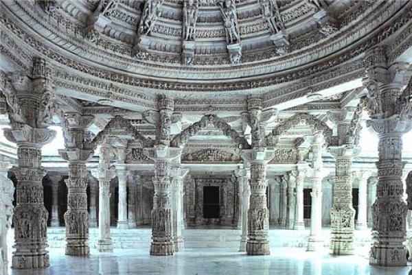 Mandap of Vimal Vasahi Temple