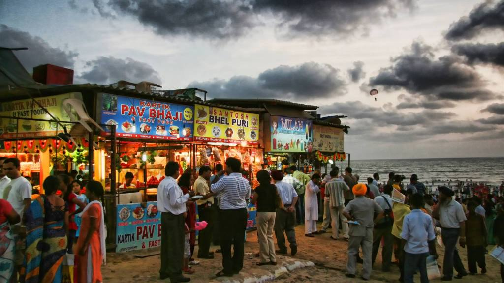 Juhu Beach Mumbai Maharashtra