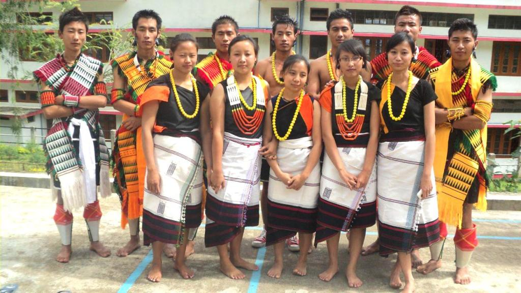 Traditional Dress of Nagaland