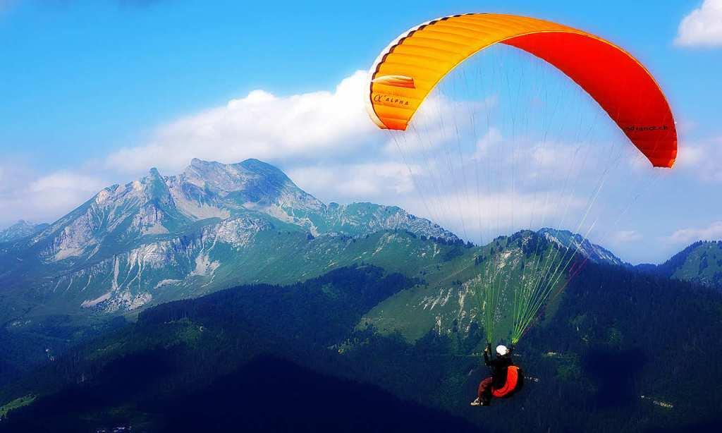 Paragliding in Bir-Billing