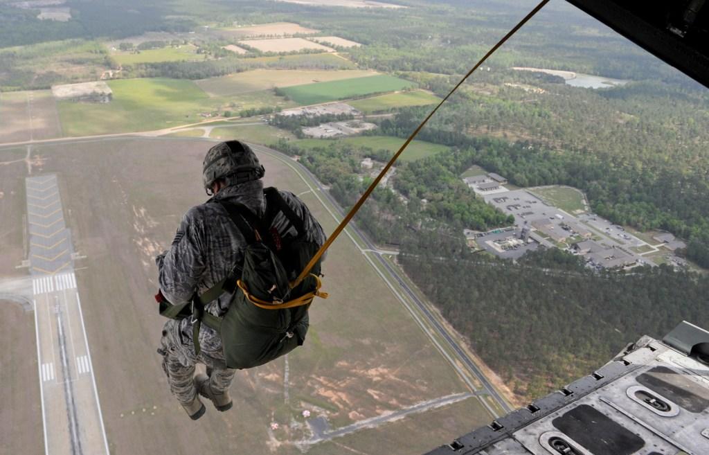 static line jump