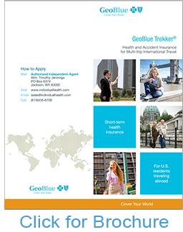 GeoBlue Trekker Choice Brochure