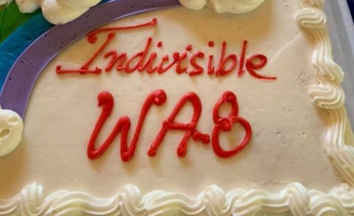 Indivisible WA 8th Cake