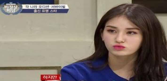 전소미 비정상회담에서 당당한 자기 의견