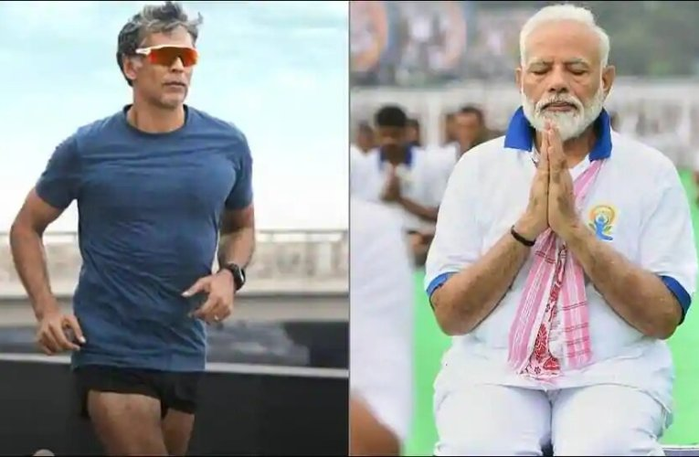 PM Modi hilariously asks Milind Soman 'are you really that old' during Fit India Dialogue, praises his mother for acing push-ups at 81