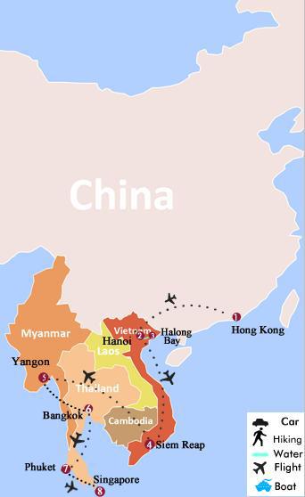 Map Of Singapore And China : singapore, china, China, Singapore, World