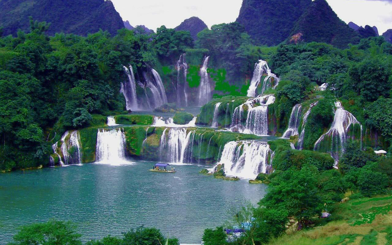 Jog Falls Wallpapers Desktop The Ideal Tourist Destinations In The Autumn Vietnam