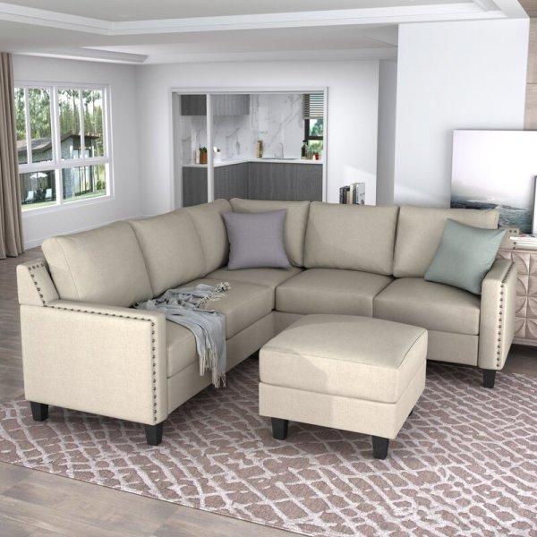 Kursi Sofa Sudut Ruang Tamu Modular